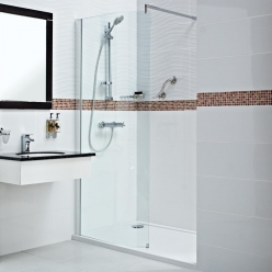 Embrace - Curved Wetroom Panel