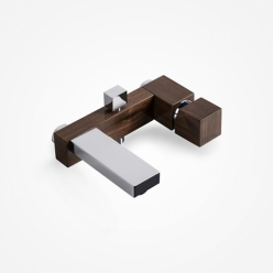 Green Home Design - Bateria wannowa naścienna