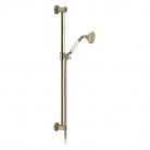 Słuchawka prysznicowa z drążkiem - Booth&Co. - Axbridge - BC-AXB-SFSRK-BN