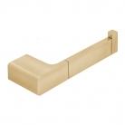 Uchwyt ścienny na papier toaletowy - INDIVIDUAL by VADO - Złoto Szczotkowane