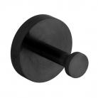 Haczyk łazienkowy pojedynczy - INDIVIDUAL by VADO - Czarny Szczotkowany (matowy)