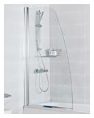 Haven - Angeled Bath Screen