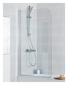Haven - Curved Bath Screen