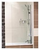 Lumin8 - Hinged Bath Screen