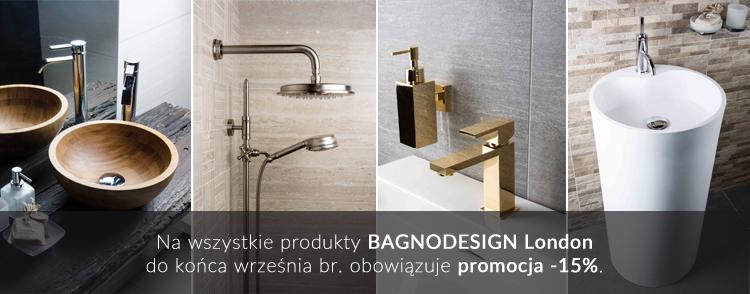 Promocja -15% na produkty BAGNODESIGN London.