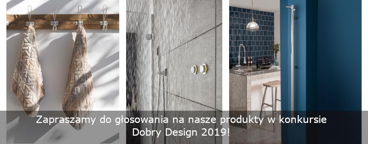 Konkurs Dobry Design 2019, VADO UK SENSORI, VOGUE UK, SOREMA GRACCIOZA