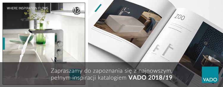 Katalogi produktowe VADO na rok 2018
